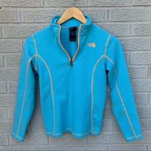 The North Face Girls Glacier 1/4 Zip Pullover